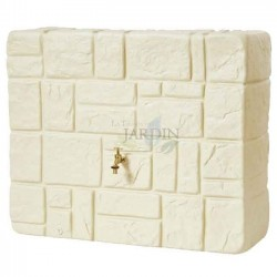 Tank imitation natural stone 340 liters beige