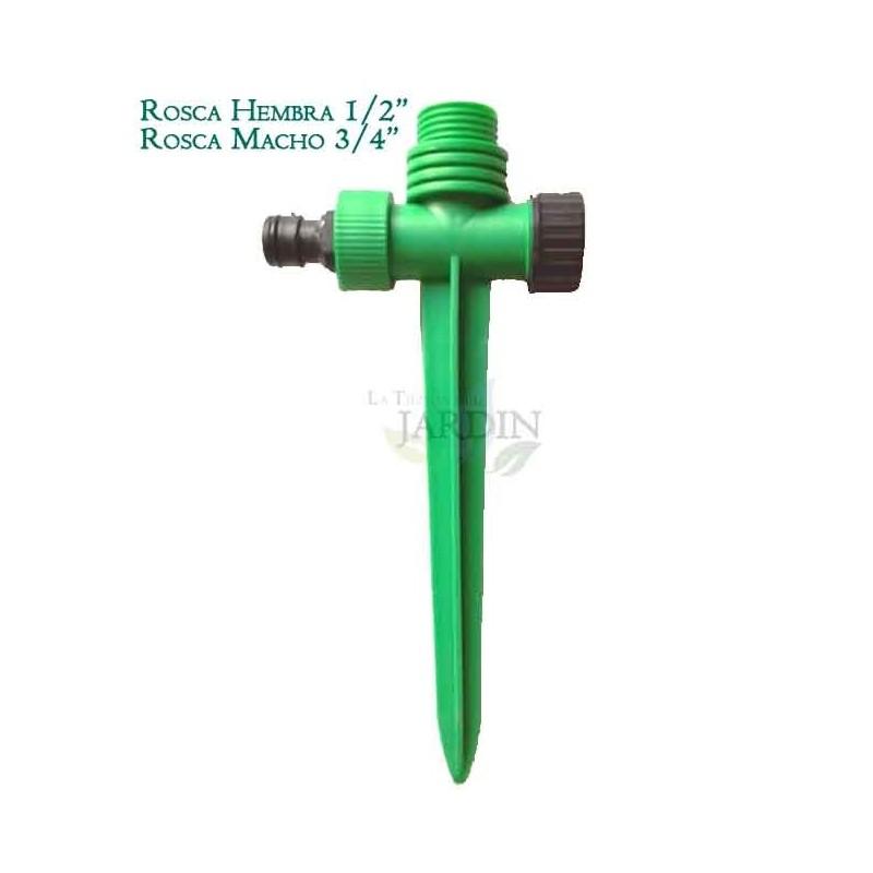 """1/2 """"female plastic sprinkler holder - 3/4"""" male"""