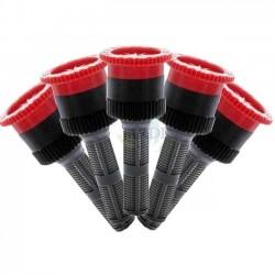 5 x Boquilla ajustable 10A Hunter para difusores de riego