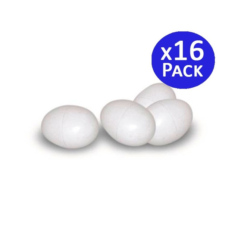 Plastic eggs for pigeons. 16 units