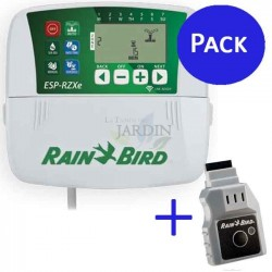 LNK Kit + Rain Bird RZX 4 zone indoor controller