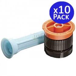 10 Rain Bird 6VAN adjustable nozzles for diffusers. Range 1.8 meters