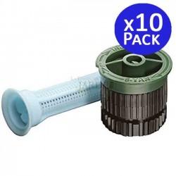 10 adjustable nozzles for Rain Bird 8VAN diffusers. Range 2.4 meters