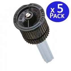 5 adjustable nozzles for Rain Bird 15VAN diffusers. Range 4.5 mts