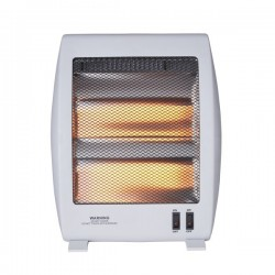 Quartz stove with two temperature settings 400-800W
