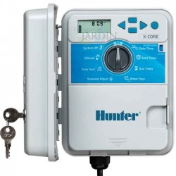 Hunter XCore 4-zone outdoor irrigation controller