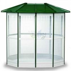 Birdhouse cage 10 sides 294x155 cm