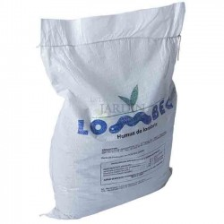 Humus de lombriz vermicompost 16Kg, 25 lts Lombec