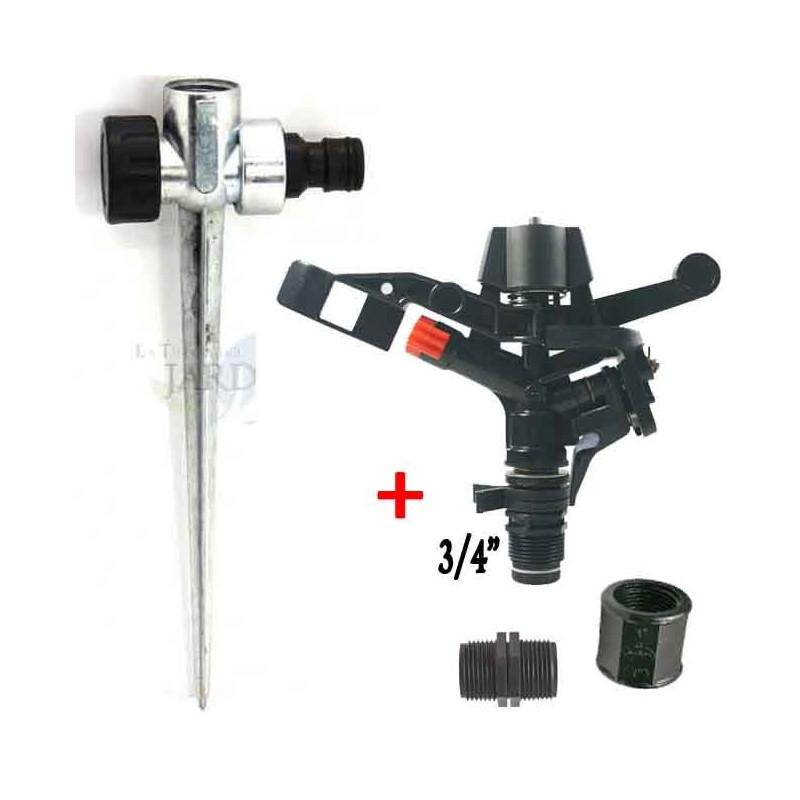 "3/4 ""sectorial agricultural sprinkler kit + metal skewer"