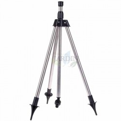 Extendable irrigation sprinkler tripod 1/2 ""