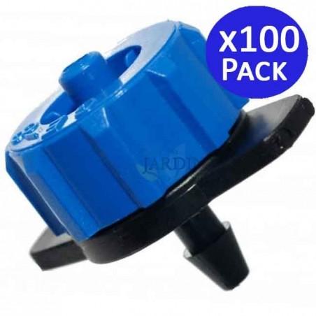 Detachable 8 l / h self-compensating dripper. 100 units