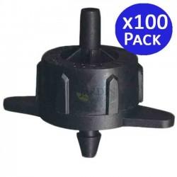 Detachable 4 l / h self-compensating dripper. 100 units