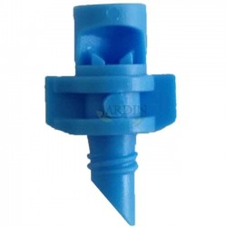 90º irrigation micro-sprinkler. Range 1 to 1,5 meters