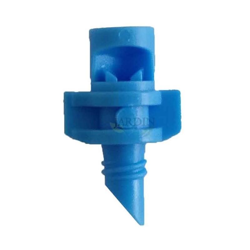 90º irrigation micro-sprinkler. Range 1 to 1,5 meters