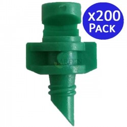 180º irrigation micro sprinkler. Range 1 to 1.5 meters. 200 units