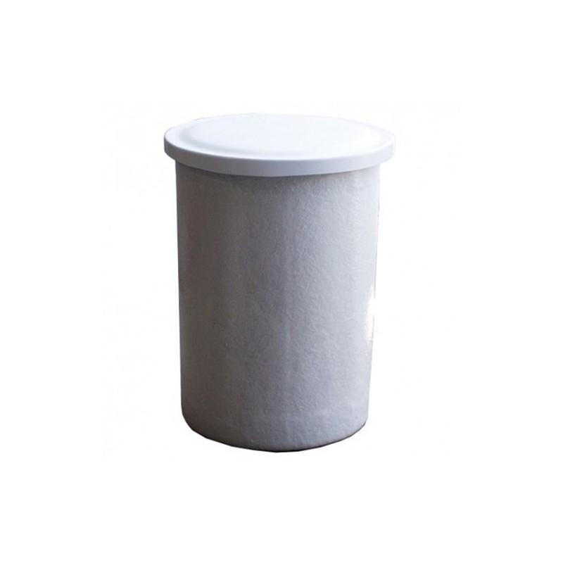 Depósito poliéster fibra 200 litros circular