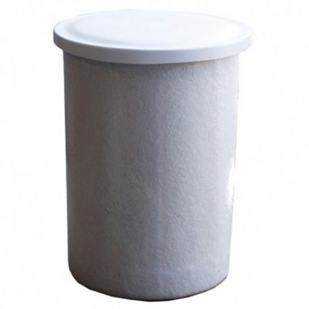Depósito poliéster fibra 300 litros circular