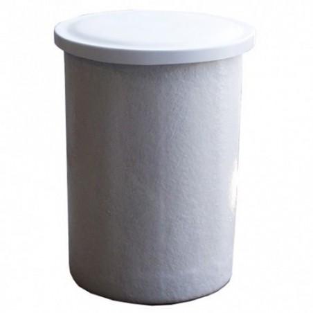 Depósito poliéster fibra 2000 litros circular