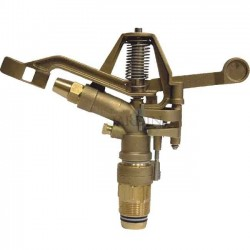 "1 1/4 ""brass sector agricultural sprinkler, 24 to 36 mts"