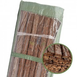 Natural double-sided bark