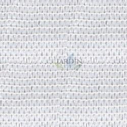 Malla sombreo ocultación blanca 2 x 100 m