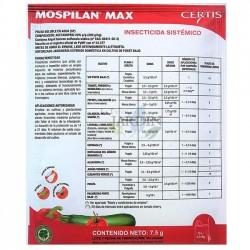 Insecticide Mospilan 7,5 gr. Indiqué pour les pucerons, les aleurodes, les coléoptères de la pomme de terre, etc.