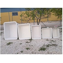 Depósito poliéster fibra 1000 litros rectangular