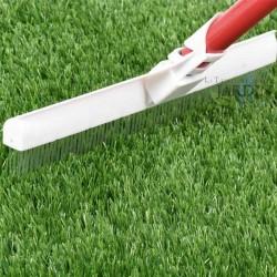 Artificial grass styling brush