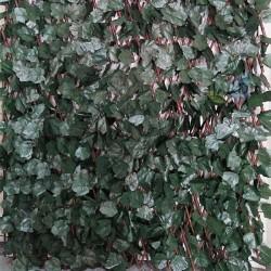 Celosía mimbre hojas de sauce 1 x 2 metros