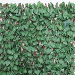 Celosía mimbre hojas de arce 1 x 2 metros