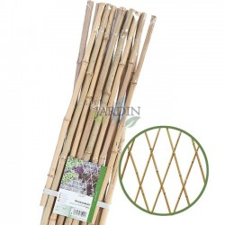 Bamboo lattice for garden