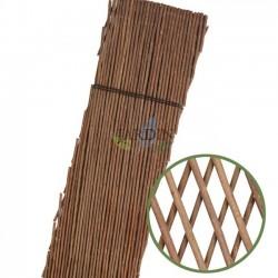 Wicker lattice for garden