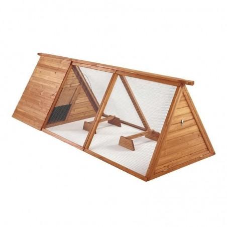 Gallinero de madera Bristol 280x100x80 cm