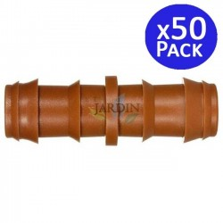Drip irrigation link 16mm brown. 50 units