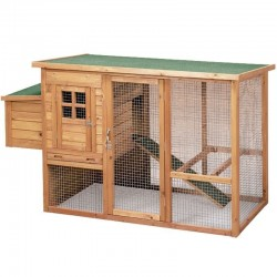 Lyon wooden chicken coop 98x76x103 cm