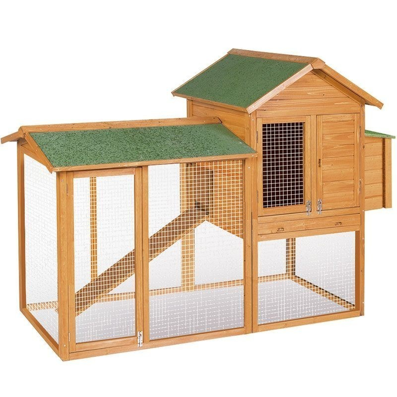 Dublin wooden chicken coop 227x94x151 cm