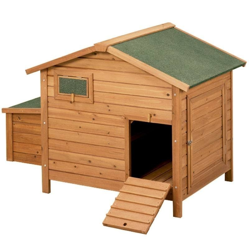 Wooden chicken coop model Berlin 136x90x99 cm