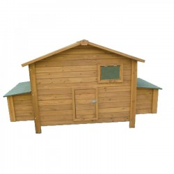 Wooden chicken coop Berlin Maxi 191x89x110 cm