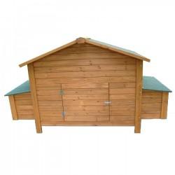 Wooden chicken coop Berlin Maxi 191x89x110 cm