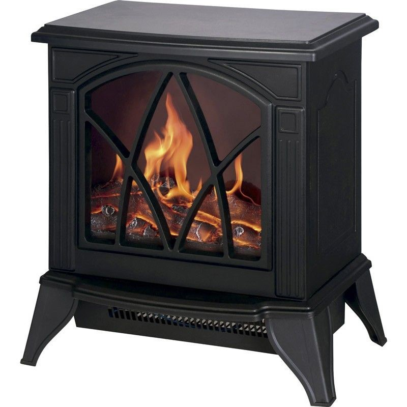 Electric fireplace effect flame