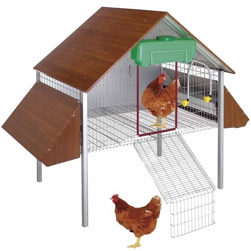 Organic hen laying hen 162x100x135 cm
