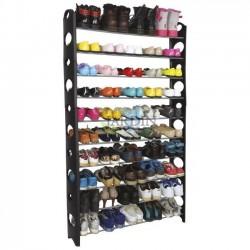 Shoe rack 50 pairs 155x90x20 cm
