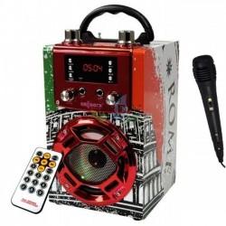 Radio bluetooth speaker Roma with karaoke function