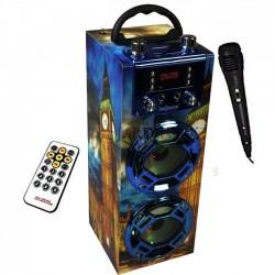 Radio Altavoz bluetooth Big Ben 5R'Sound con función karaoke