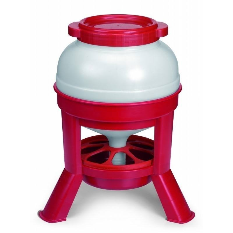 Feeders 20 liters with legs for chickens