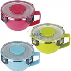Fiambrera térmica 850 ml (color aleatorio)
