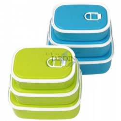 Set 3 lunch boxes 420ml,...