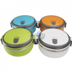 Stainless steel 700 ml lunch box (random color)