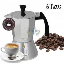 Cafetera inducción 6 tazas