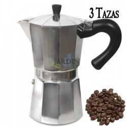 Cafetera clásica de inducción 3 tazas